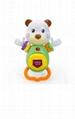 B/O light musical cloth plush toys 5