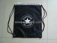 Nylon Drawstring Shopping Bag