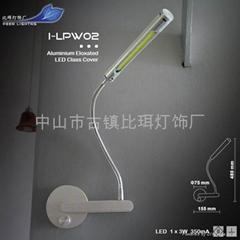 LED COB 3W 350mA Wall Lamp