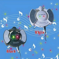 New Mini Fireflies Model mp3 Player Stage Light