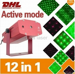mini Laser stage light 150mw holiay light