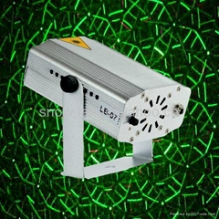 8 in 1 Green & Red Laser DJ Disco Club Party Stage Lighting Lights