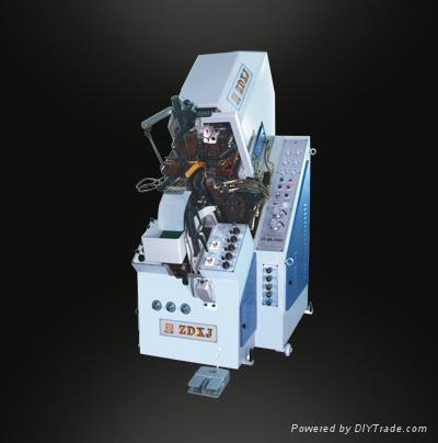 全自动九爪油压前帮机ZD-QB588(C) 1