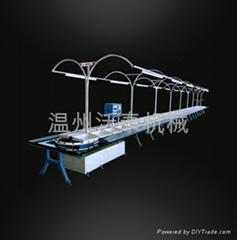 转盘式针车生产线