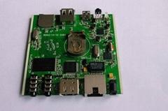 3Q-M111高清网络广告机解码板