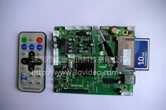 3Q-M720高清广告机解码板