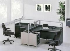 广州厂家生产直销屏风办公桌