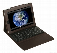 For ipad 2 bluetooth keyboard with leather case