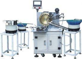 全自动变压器装铁芯包胶一体机设备 1