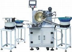 全自动变压器装铁芯包胶一体机设备