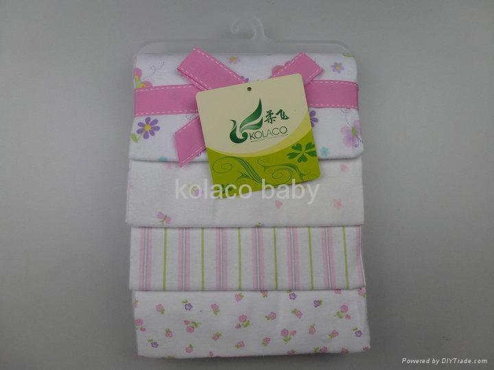 Cotton flannel baby blankets 3