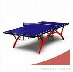 河南平頂山體育用品平頂山乒乓球台紅雙喜乒乓球台