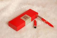 红瓷钢笔/签字笔