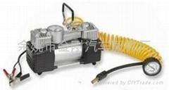 双杠汽车充气泵