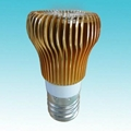 3W Hot Sale LED Lamp Cup with Rocket Booster Heat Radiation  3