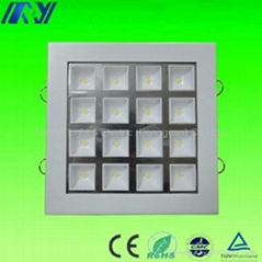 16W Square LED Cabinet Lighting with Waterproof Driver