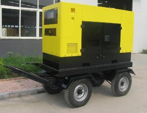 GT系列5-40KW四轮拖车电站 2