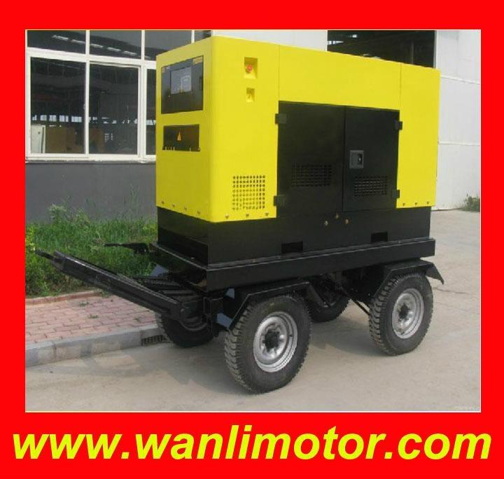 GT系列5-40KW四轮拖车电站 5