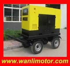 GT系列5-40KW四轮拖车电站
