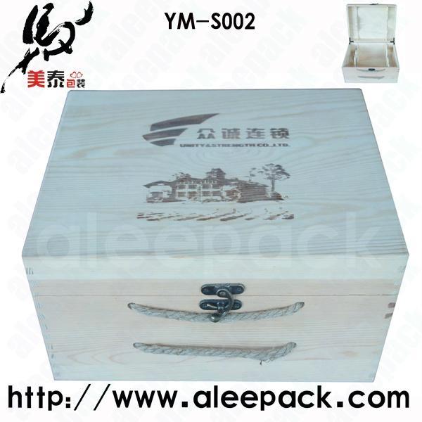 松木六支葡萄酒盒 1