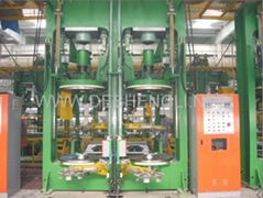 Hydraulic curing press for PCR and LT tire (B-Type)