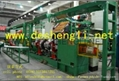 Second stage car tire building machine