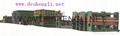 Conveyor belt producing machine