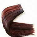 100% Human Hair Extension, Different Colors and Sizes are Available