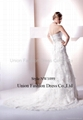 Popular & hottest Wedding gown in heavy beaded lace and satin from 2010 to now  5
