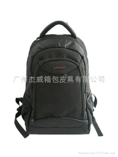 16寸黑色休闲双肩电脑包 1