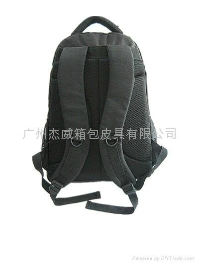 16寸黑色休闲双肩电脑包 3