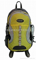 黄色休闲运动包