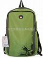 绿色休闲背包