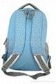 休闲蓝色双肩包 5