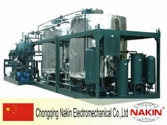 Engine oil regeneration system