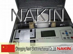Insulating oil tester (Dielectric strength)