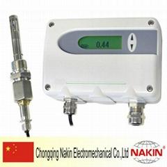 Moisture detector in oil