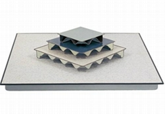 Anti-static steel raised floor