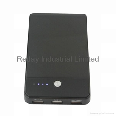 Mobile Power Bank with 3 USB Ports for iPad and Mobile Phone
