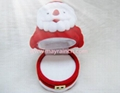 圣诞老人植绒首饰品耳环情侣对戒指盒 2
