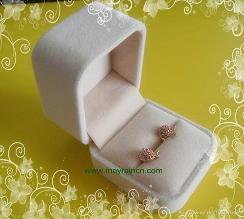 珠宝耳环情侣对戒指盒 1