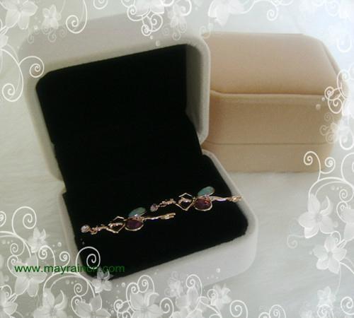 首饰品宝石植绒戒指盒 2