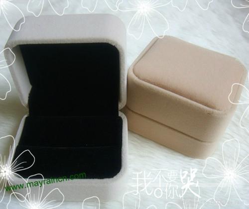 首饰品宝石植绒戒指盒 3