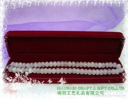 植绒项链项饰胶盒 3
