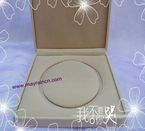 植绒礼品珠宝首饰品纸盒项链化状品包装盒项饰 2