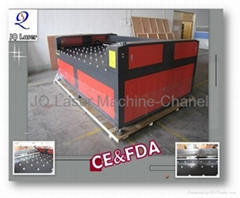 Glass processing laser engraving machine with ballworktable-JQ1530