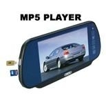 7 inch car rearview mirror monitor with MP5+USB+SD+FM function