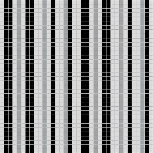 黑白条纹玻璃马赛克