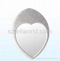 Acrylic Aritificial stone Mirror Frame