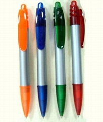 retractable plastic ballpen